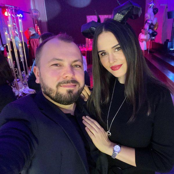 Ярослав Сумишевский с женой,