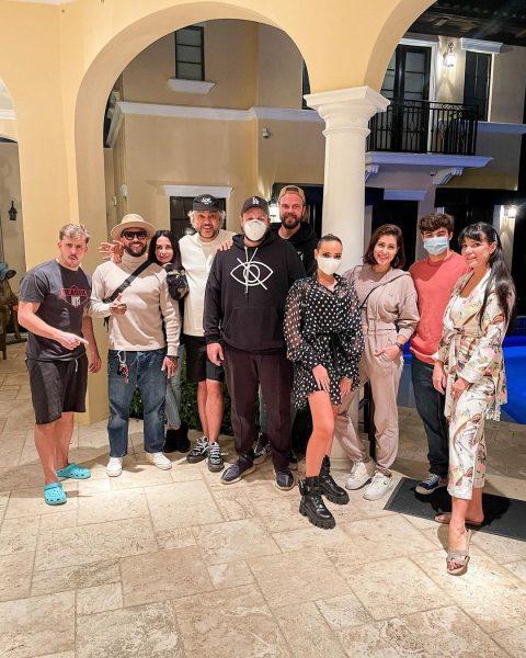 Филипп Киркоров с гостями.