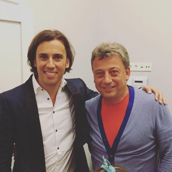 Максим Галкин с братом