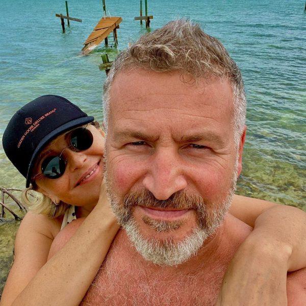 Леонид Агутин и Анжелика Варум на отдыхе