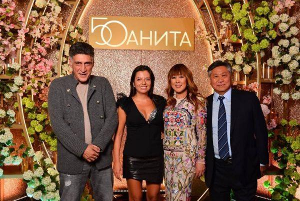 Маргарита Симоньян и Тигран Кеосаян на дне рожденья Аниты Цой