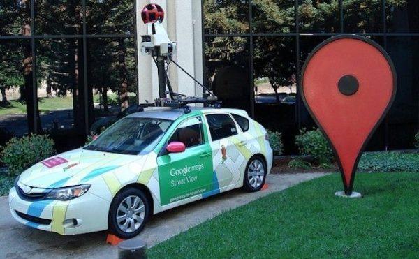 Машина гугл мап