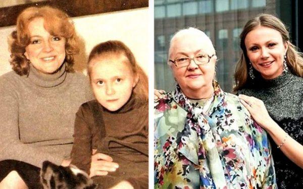 Екатерина Градова с дочерью Марией Мироновой