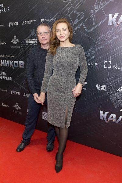 Екатерина Гусева с супругом