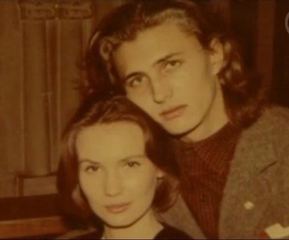 Ян Пузыревский с женой