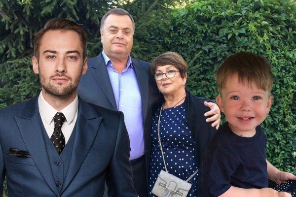 Дмитрий Шепелев, родители и сын Жанны Фриске