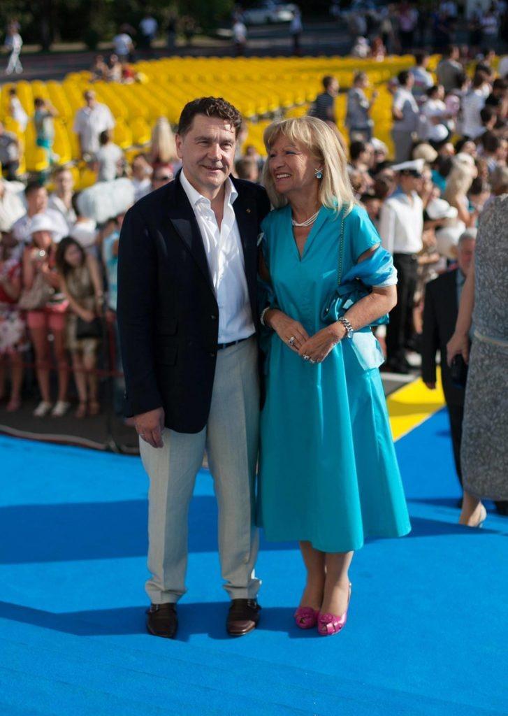 Сергей Маковецкий с женой сейчас