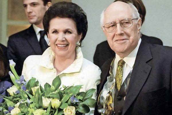 Галина Вишневская и Мстислав Ростропович.