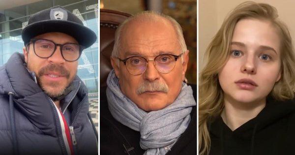 Михалков раскритиковал актеров Бортич и Деревянко за доход в 200 тысяч рублей в день