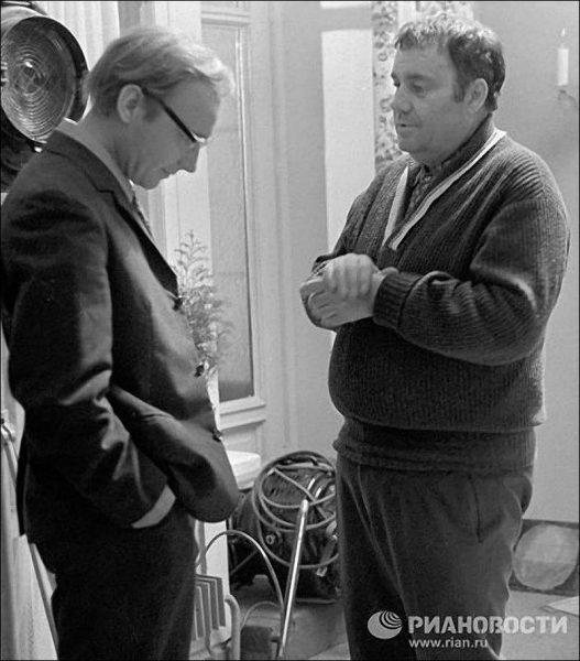 Эльдар Рязанов и Андрей Мягков.