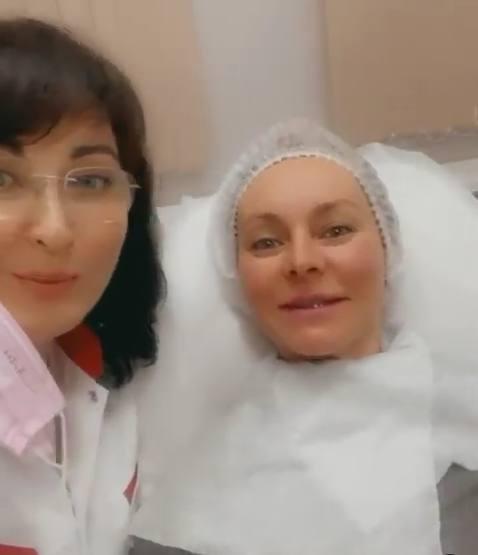Марина Анисина перед свадьбой