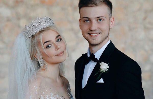 Свадьба Алины Гроссу с Александром Комковым