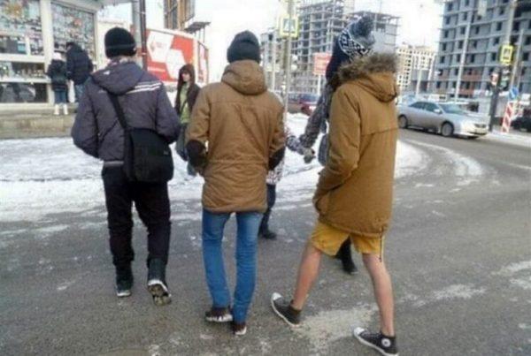 Незабываемые зимние модники — 20 фото, которые хочется развидеть