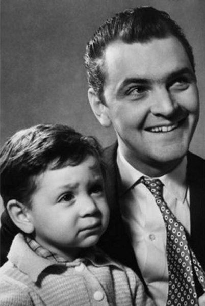 Юрий Яковлев с сыном Алексеем