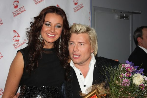 Оксана Фёдорова и Николай Басков.