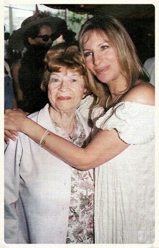 Барбра Стрейзанд с мамой