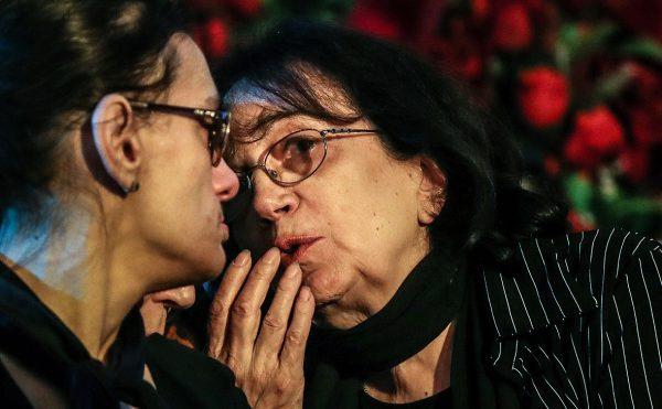 Гитана Леонтенко с дочерью