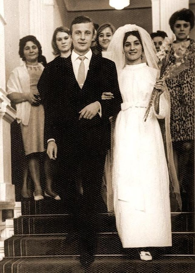 Свадьба Софии Ротару и Анатолия Евдокименко