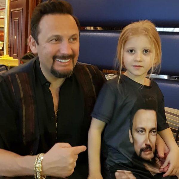 Стас Михайлов с дочерью Машей