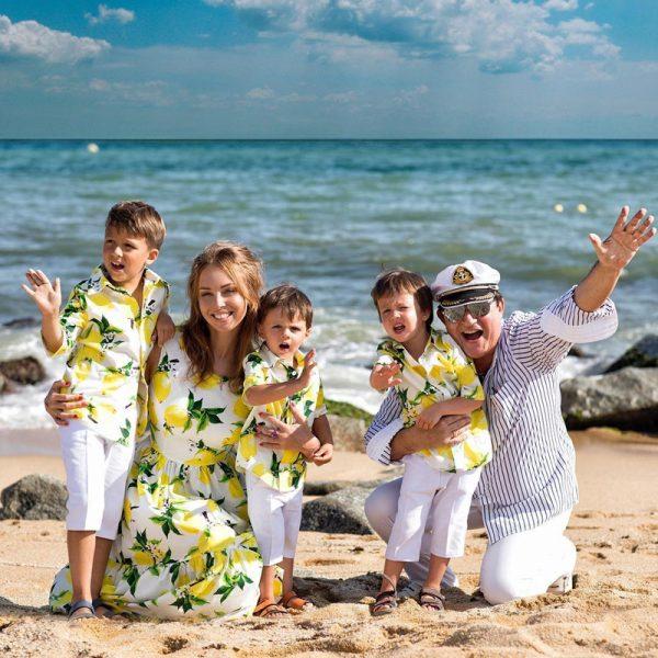 Дмитрий Дибров с семьёй,