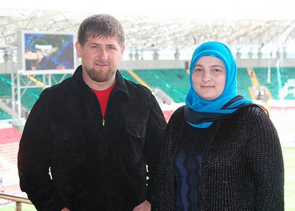 Рамзан Кадыров м Медни Мусаева,