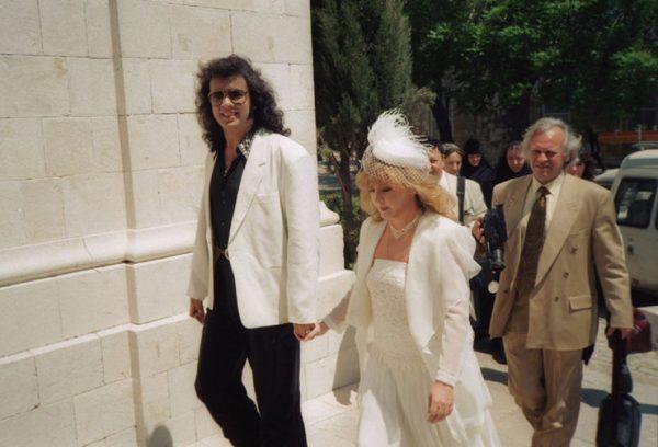 Фото со свадьбы Кирковро и Пугачёвой