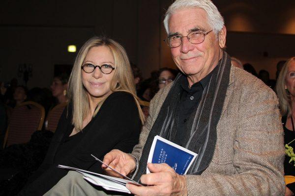 Барбра Стрейзанд с мужем Джеймсом Бролином