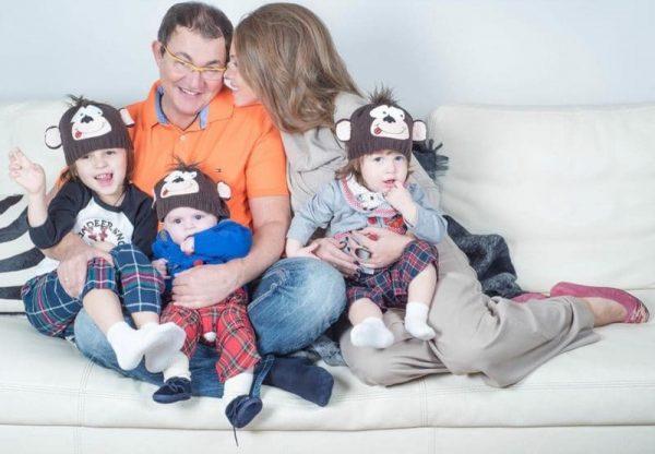 Дмитрий Дибров с семьёй
