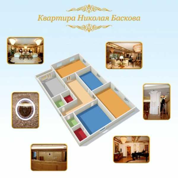 Квартира Баскова в Москве
