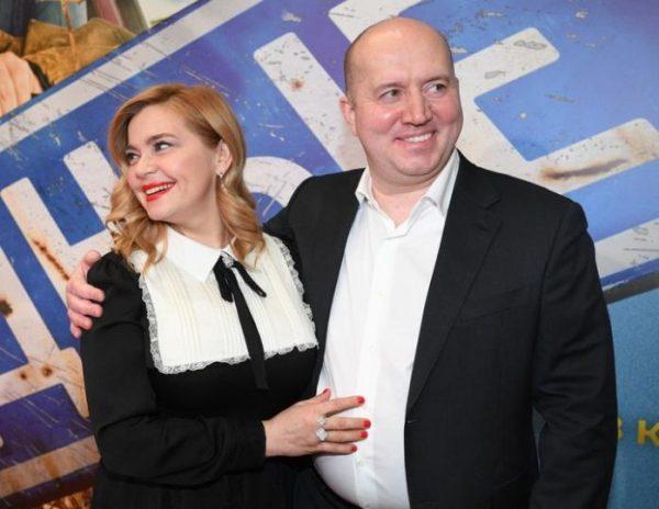 Ирина Пегова и Сергей Бурунов