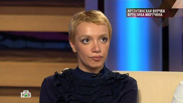 Внучка Фрунзика Мкртчяна