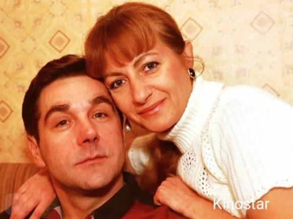 Сергей Маковецкий с женой
