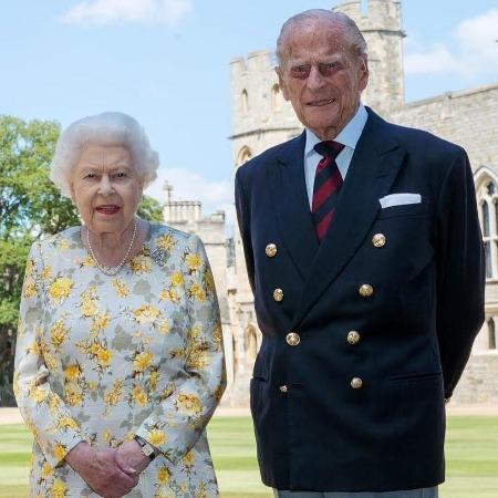 Королева Елизавета II и герцог Филипп Эдинбургский