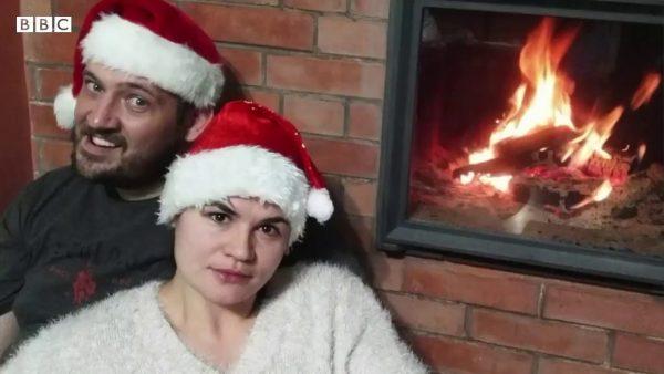Светлана и Сергей Тихановские