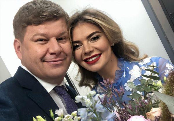 Дмитрий Губерниев и Алина Кабаева
