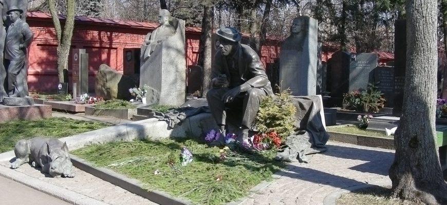 Могилы знаменитостей