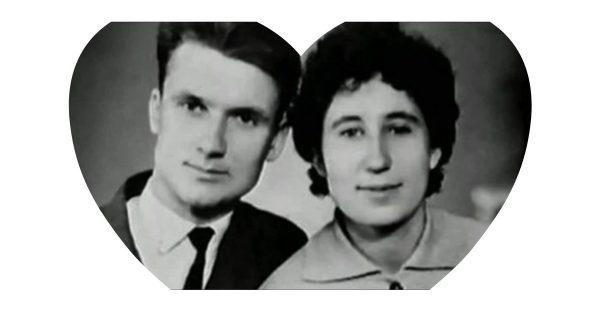 Андрей Чикатило с женой.