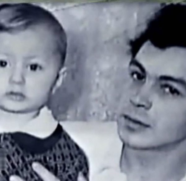 Игорь Николаев с отцом