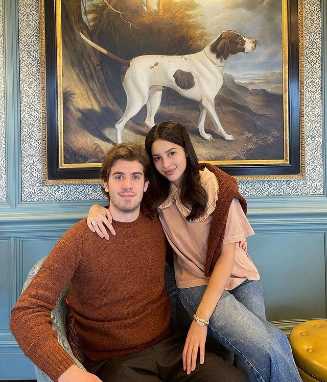 Диана Манасир с мужем. Фото Инстаграм