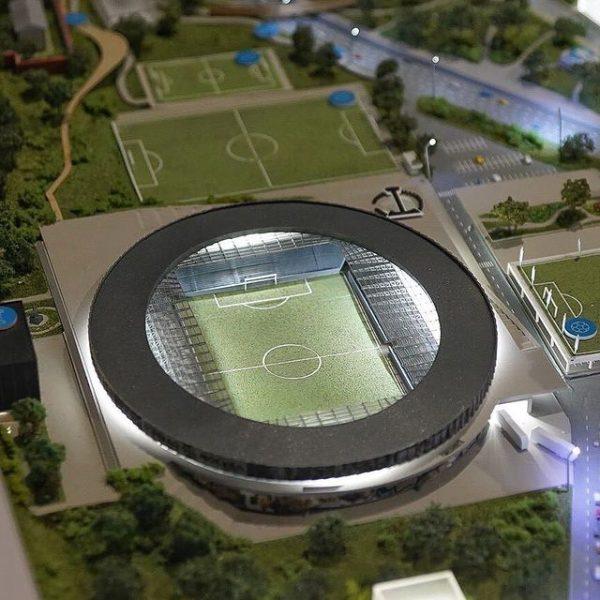 """Проект реконструкции стадиона """"Торпедо"""""""