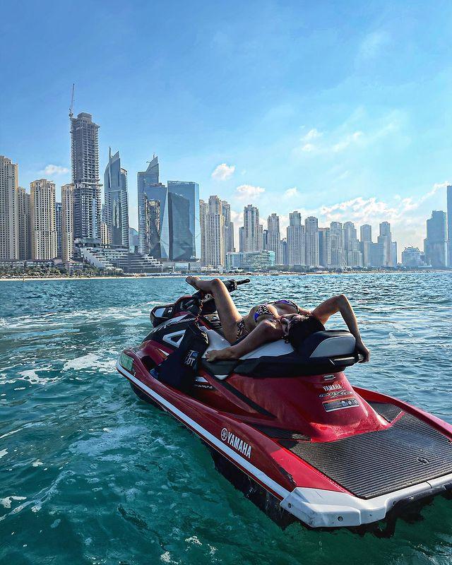 Катя Гусева в Дубаи была одновременно с Киркоровым