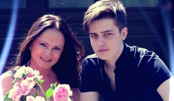 София Ротару с внуком Анатолием