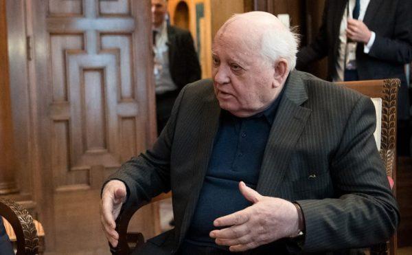 Михаил Горбачев в 2020 году