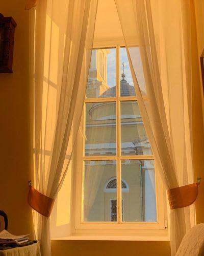 Вид за окнами в квартире Бориса Корчевникова