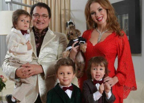 Семья Дмитрия Диброва