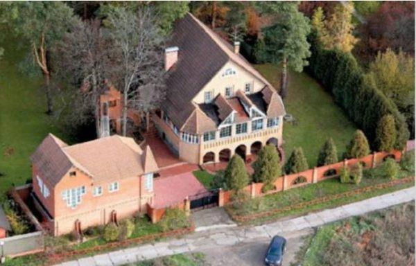 Дом Александра Милинина с высоты