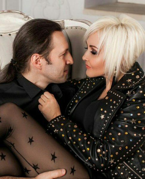 Василиса Володина с мужем