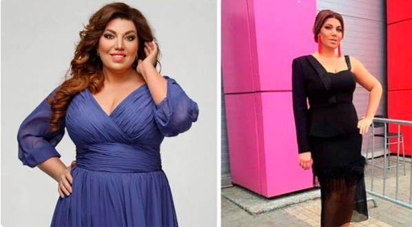 Екатерина Скулкина до и после похудения