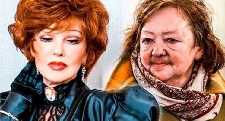 Любмила Гурченко и ее дочь