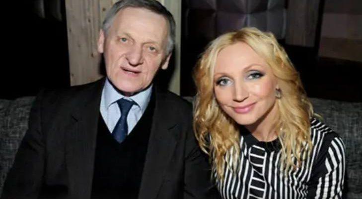 Кристина Орбакайте с отцом
